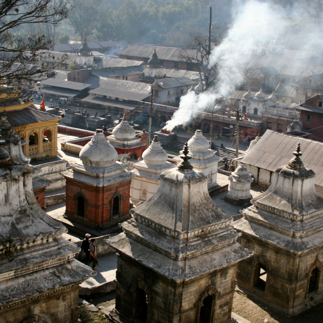"""Pashupati Nath Temple"" stock image"