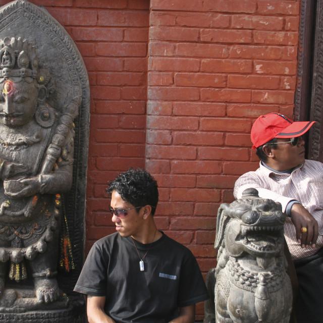 """""""Shoembhui Nath Temple"""" stock image"""