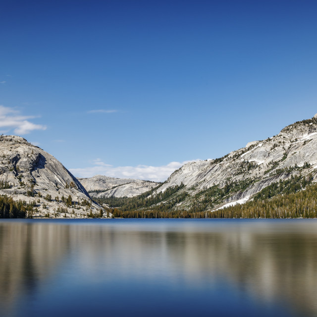 """Tenaya Lake"" stock image"
