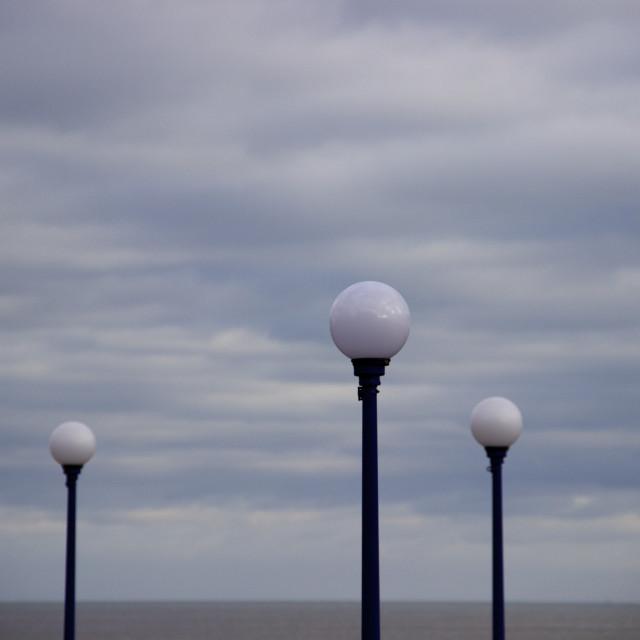 """""""Eastbourne Lights"""" stock image"""