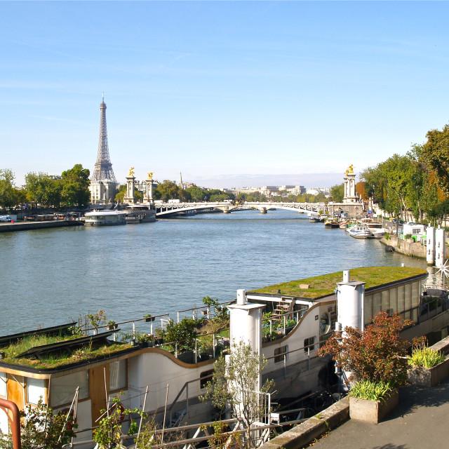 """""""Central Paris"""" stock image"""