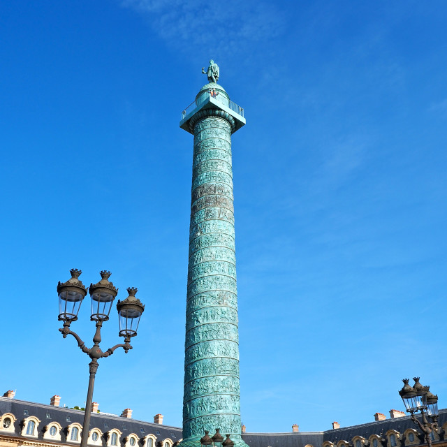 """Place Vendome"" stock image"