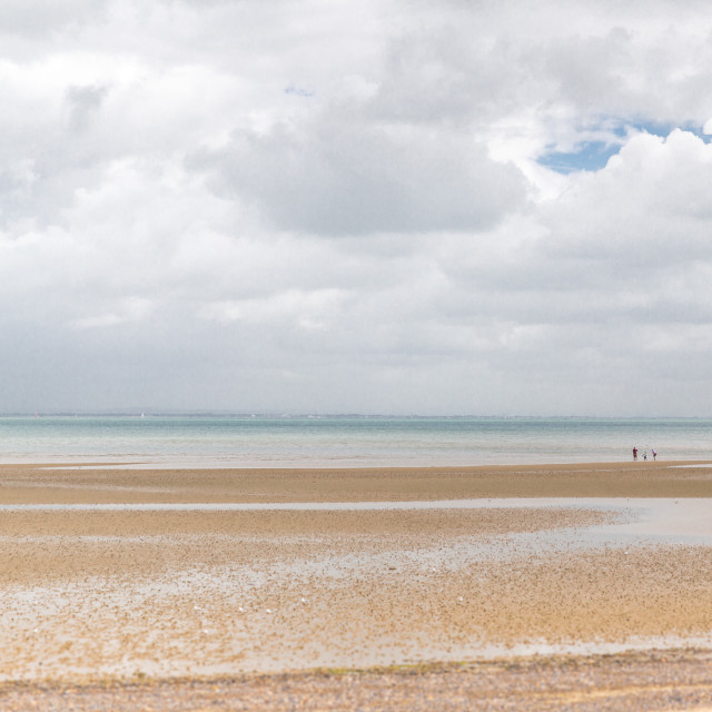 """Appley Beach on the Isle of Wight"" stock image"
