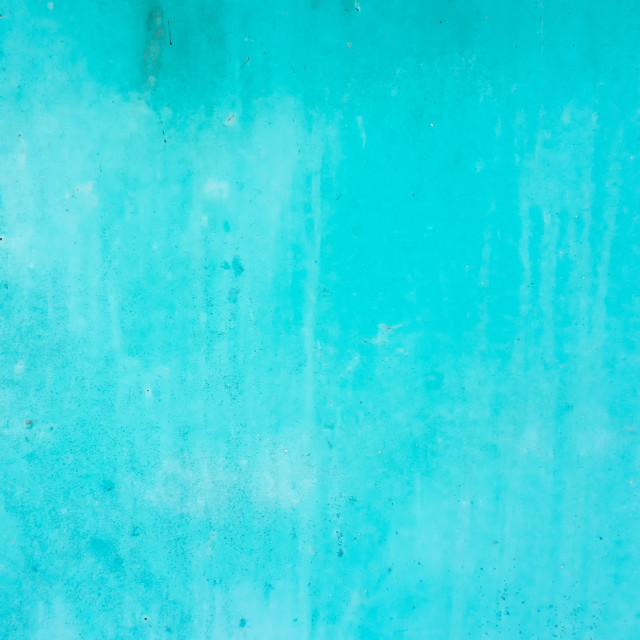 """""""Textures of cyan painted grunge concrete background"""" stock image"""