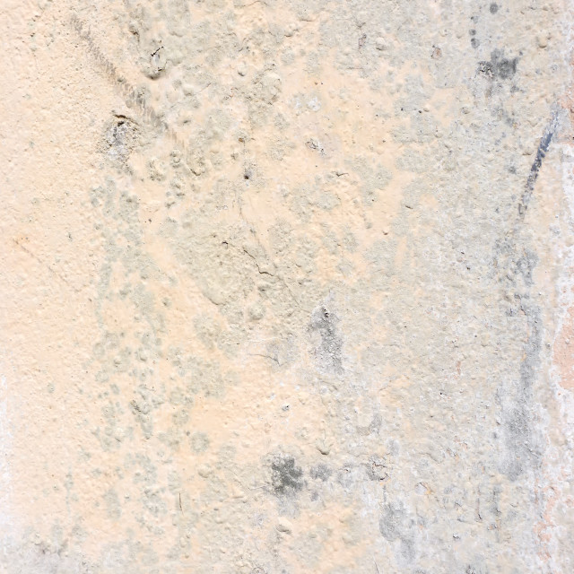 """Grunge beige concrete background with peeling off paint"" stock image"