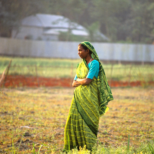 """Woman in Gorashin village, Tangail. Bangladesh."" stock image"