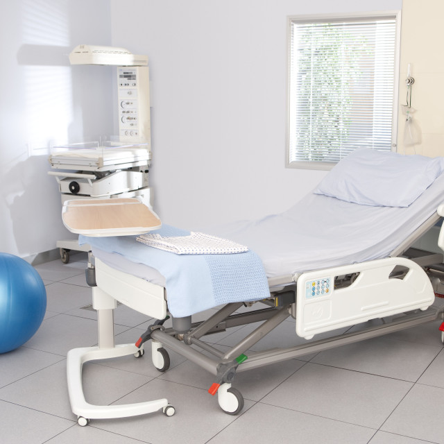 """Hospital delivery suite"" stock image"