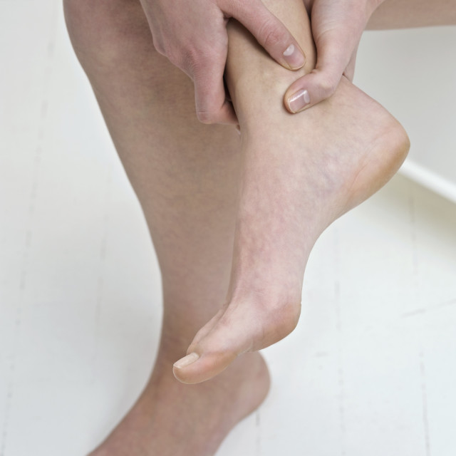 """Sore ankle"" stock image"