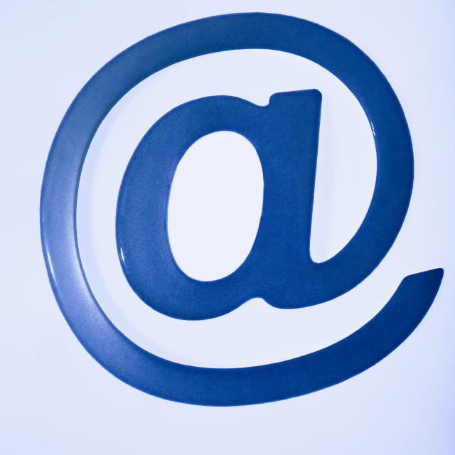 """Email symbol"" stock image"