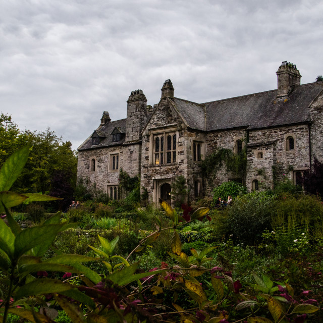 """Cotehele House"" stock image"