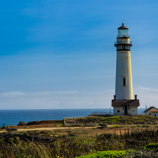 """Pigeon's Point Lighthouse"" stock image"