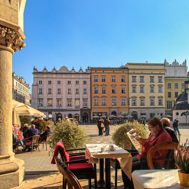 """Lazy afternoon in Stare Miasto"" stock image"