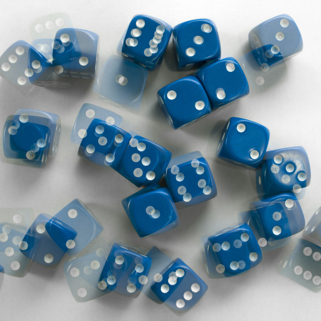 """Probability and randomness"" stock image"