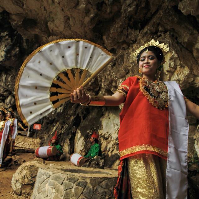 """Traditional Dance"" stock image"