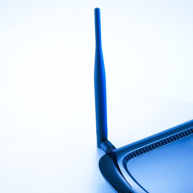 """Broadband router"" stock image"