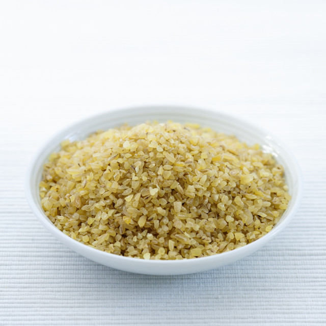 """Bulgur Wheat"" stock image"