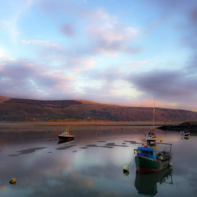 """Barmouth sunset"" stock image"