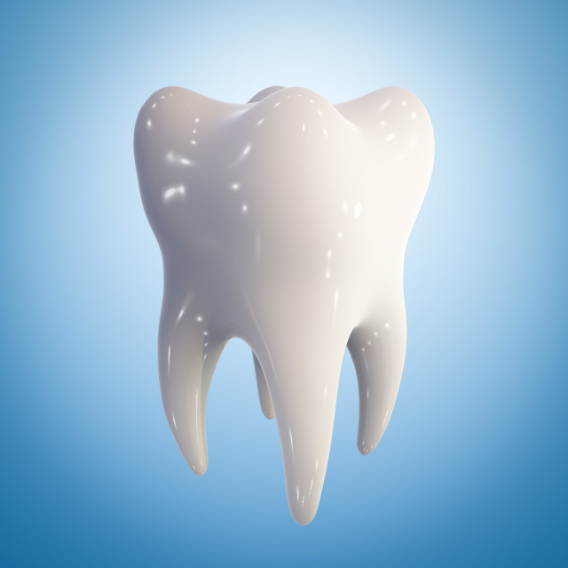 """Healthy molar tooth, illustration"" stock image"