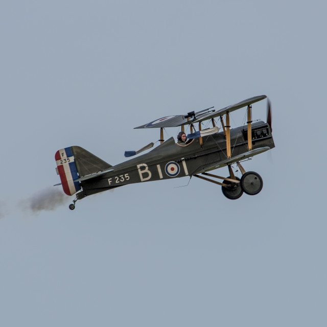 """Royal Aircraft Factory SE5a Replica"" stock image"