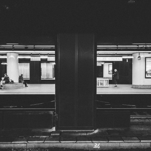 """Central Station Brussels"" stock image"