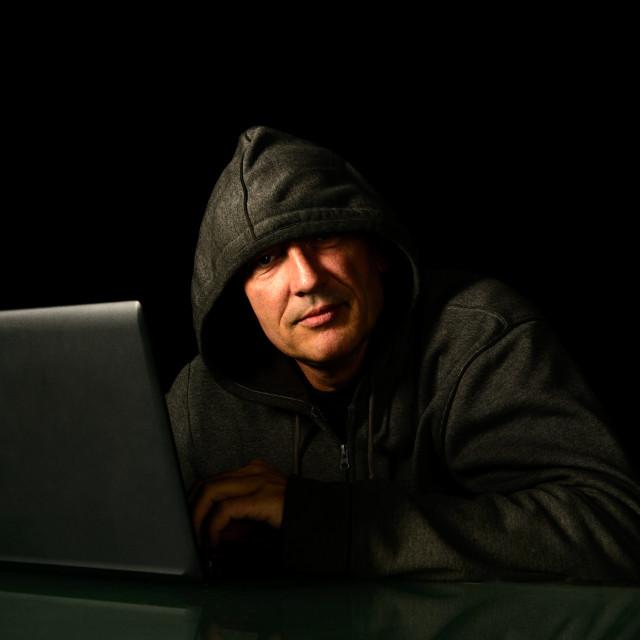 """Data theft"" stock image"