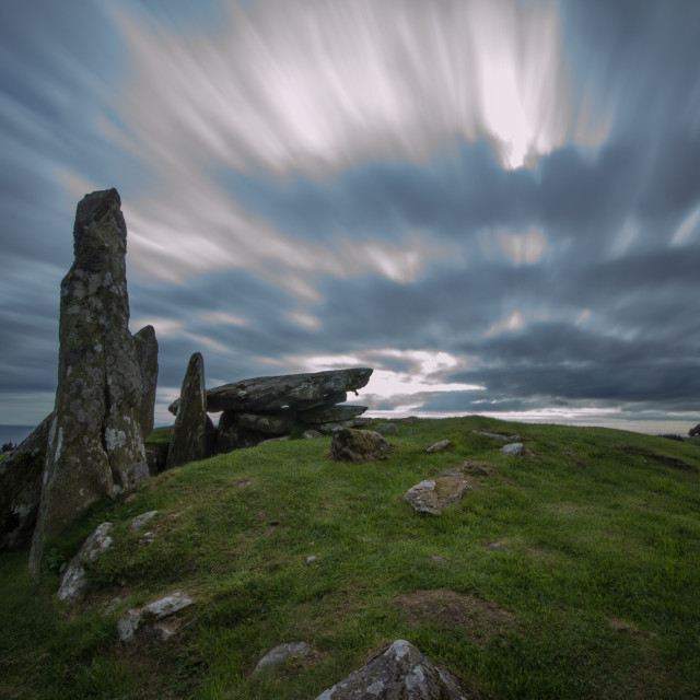 """""""Holy Cairns, Dumfries and Galloway"""" stock image"""