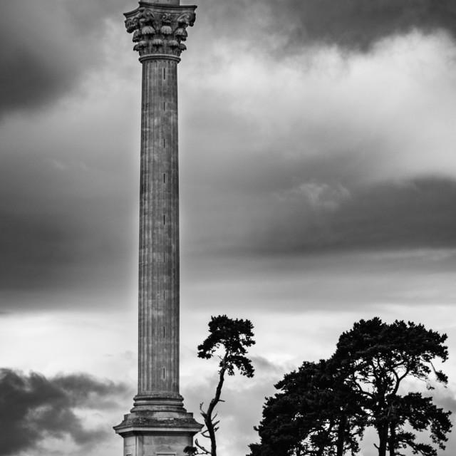 """""""The Elveden Memorial, Suffolk, England"""" stock image"""