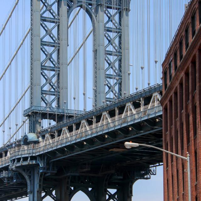 """""""Manhattan Bridge"""" stock image"""