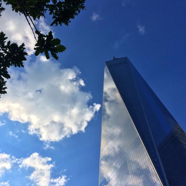 """One World Trade Center"" stock image"
