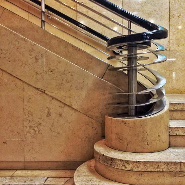 """Streamline Staircase"" stock image"