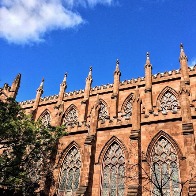 """""""St. Ann & The Holy Trinity Church"""" stock image"""