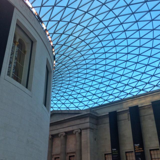 """British Museum, London"" stock image"