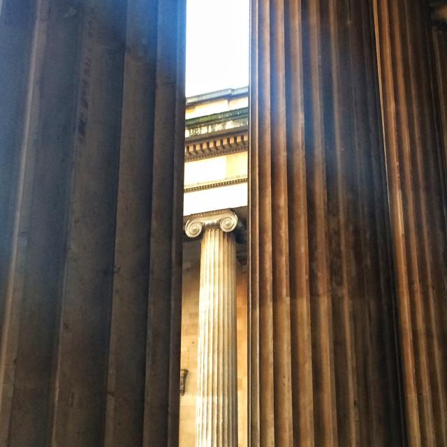 """British Museum"" stock image"