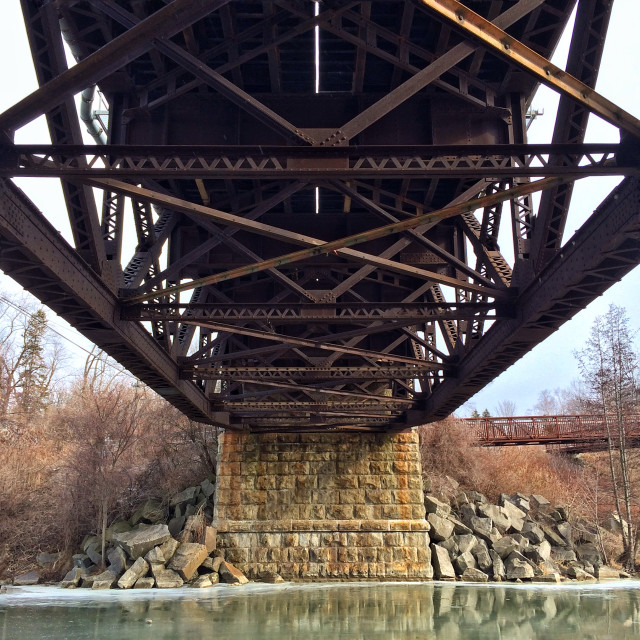"""Bridge Structure"" stock image"