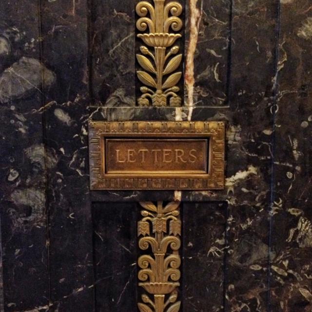 """""""Letter slot"""" stock image"""