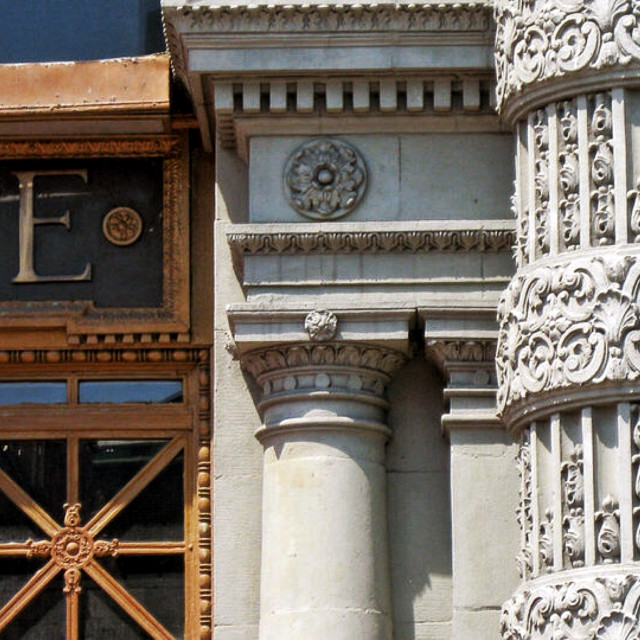 """Buffalo Architecture"" stock image"