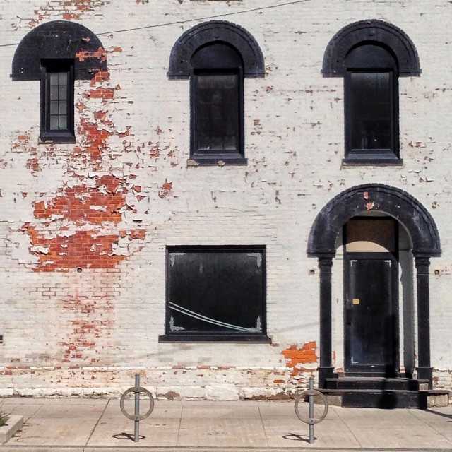 """Decaying facade"" stock image"