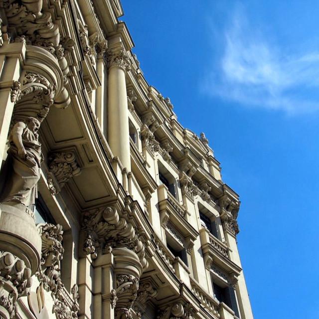"""Madrid Architecture"" stock image"