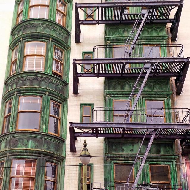 """""""San Fran stairs"""" stock image"""