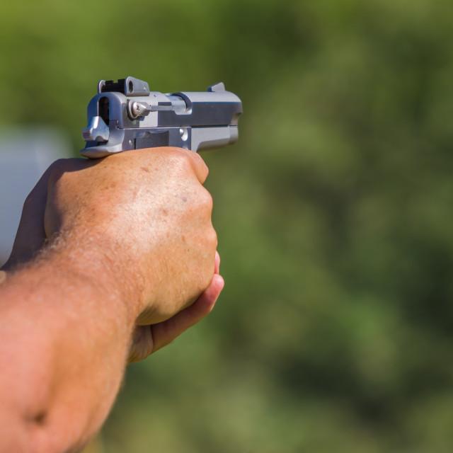 """""""Weapons Pistol Firearm"""" stock image"""