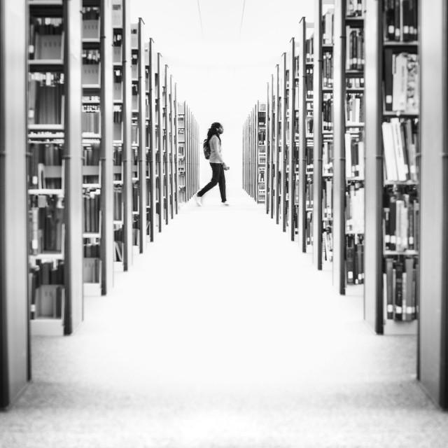 """the Book Matrix"" stock image"