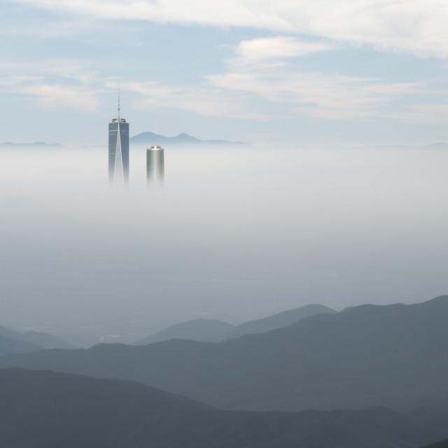 """Cloud City"" stock image"