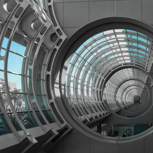 """San Diego Convention Center"" stock image"