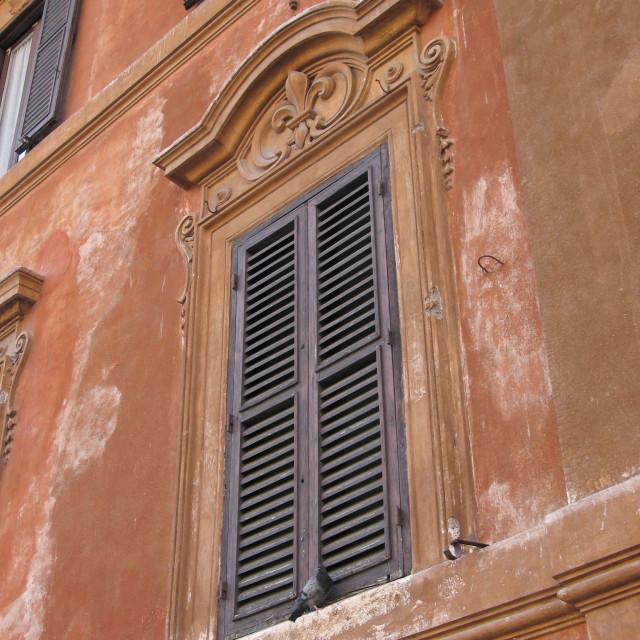 """Roman Window"" stock image"