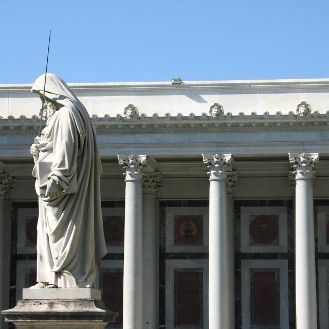 """Basilica of San Paolo Fuori le Mura, Rome"" stock image"