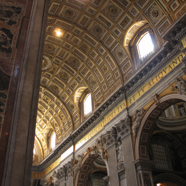 """St. Peter's Basilica, Rome"" stock image"