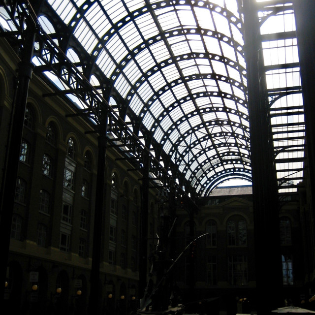 """Hay's Galleria, London"" stock image"