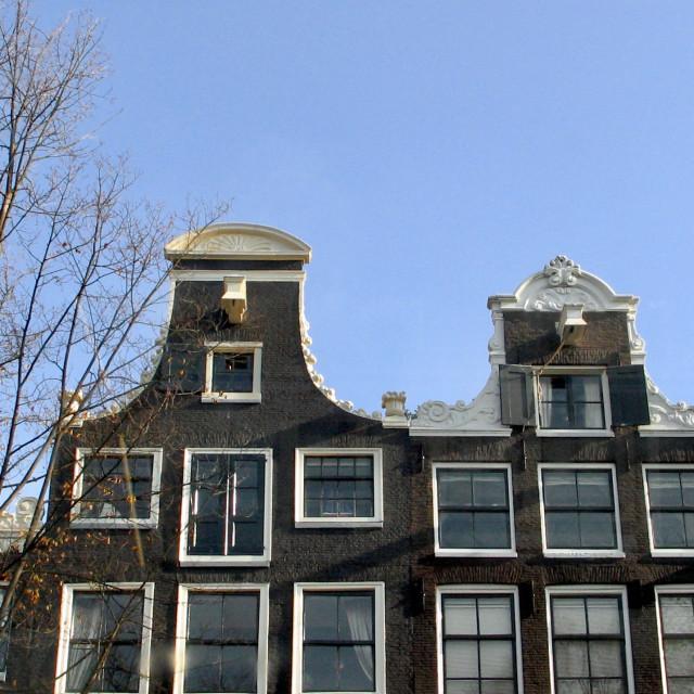 """Amsterdam shapes"" stock image"