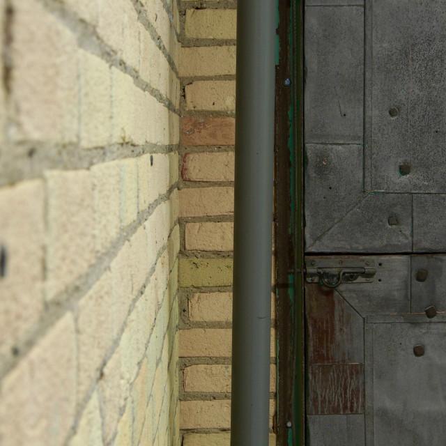 """Warehouse brick"" stock image"