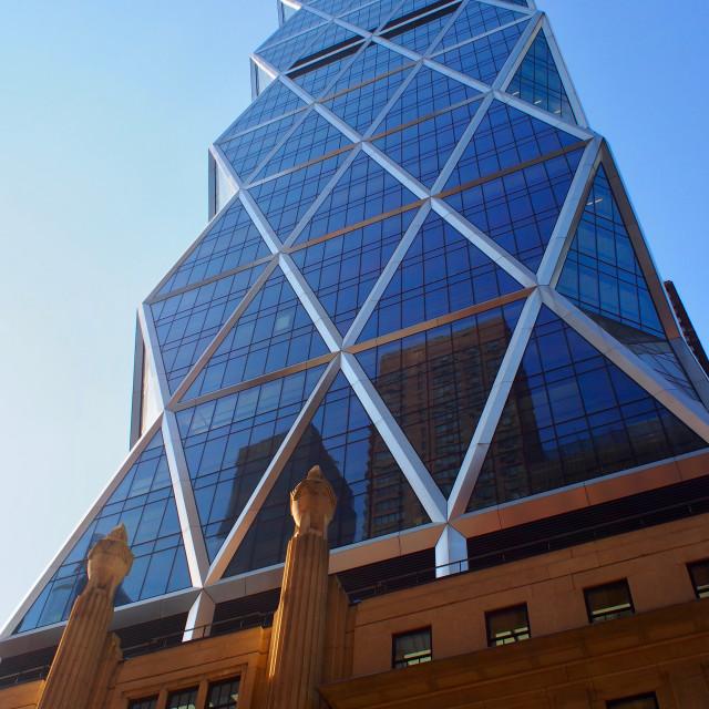 """Hearst Tower, New York"" stock image"